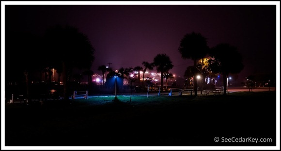 Hazy night- Cedar Key