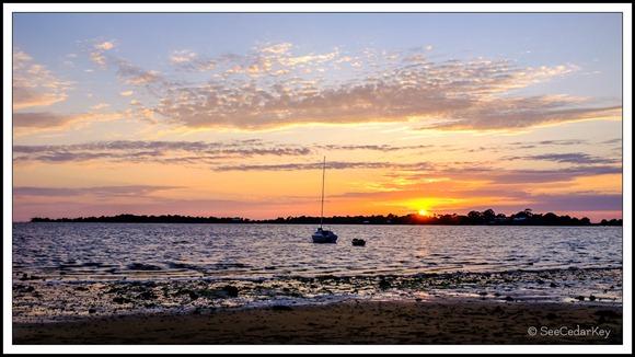 Cedar Key sunset 040312-4