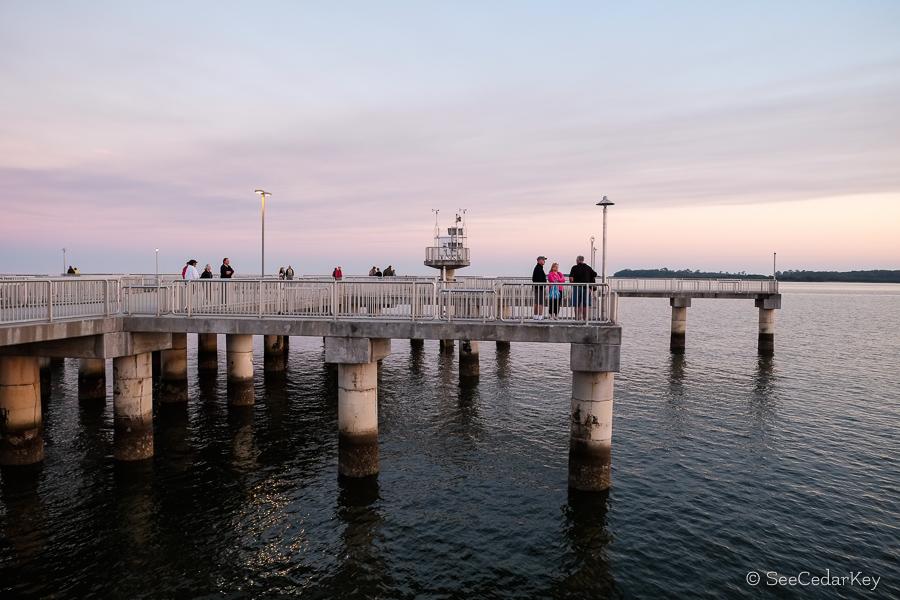 Cedar Key Sunset Watchers