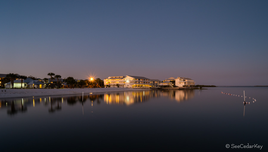 Cedar Key Nightime 021713-1