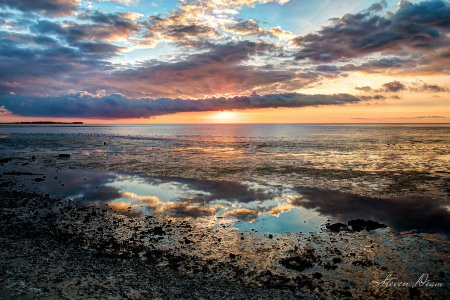 Beautiful Sunrise in Cedar Key
