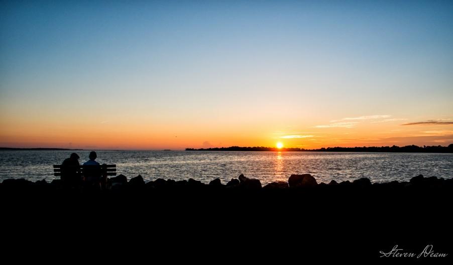 A beautiful Cedar Key sunset