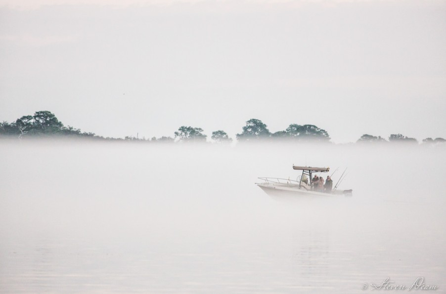 Foggy day in Cedar Key