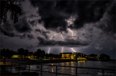 Stormy weather in Cedar Key