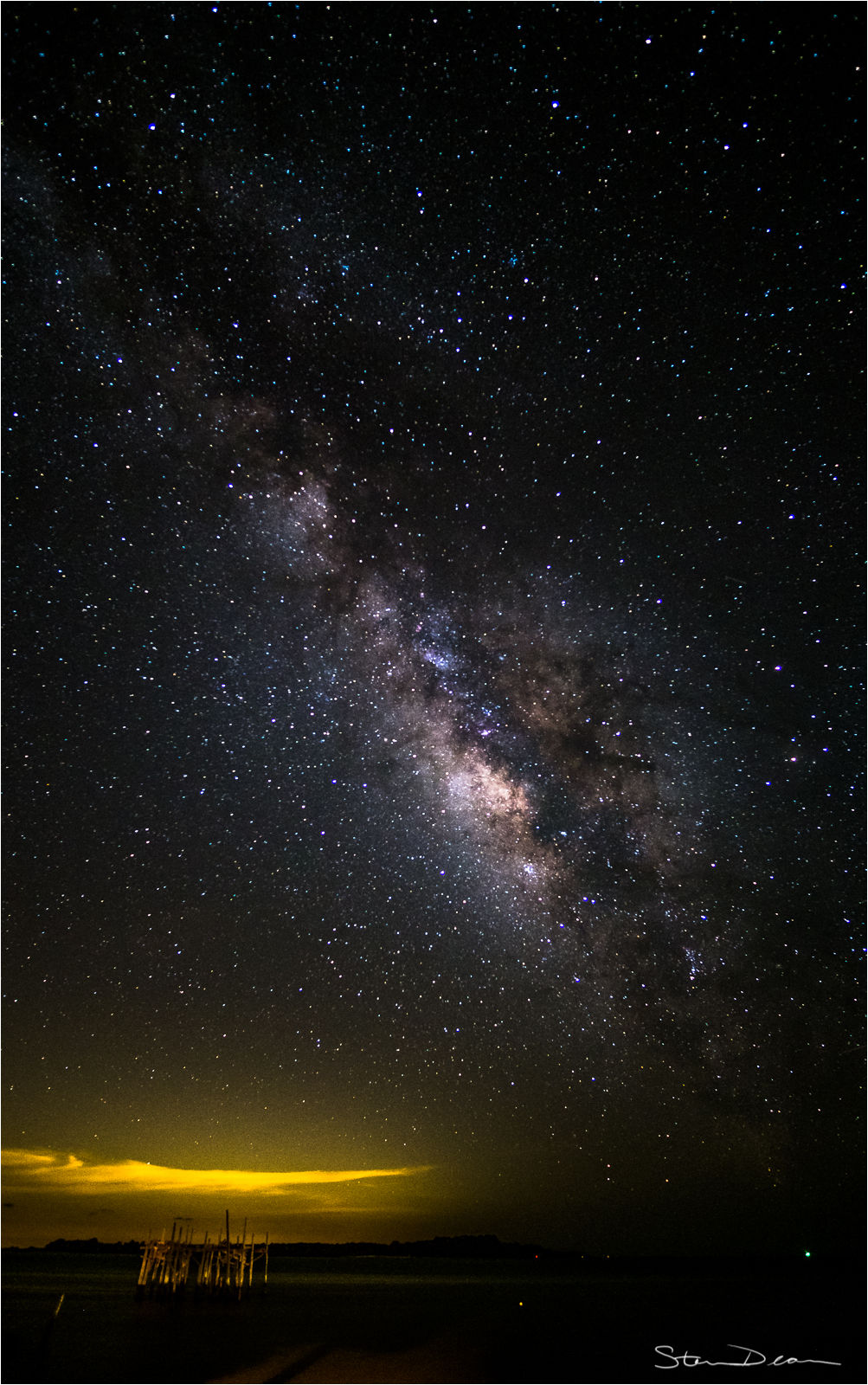Milky Way over Cedar Key