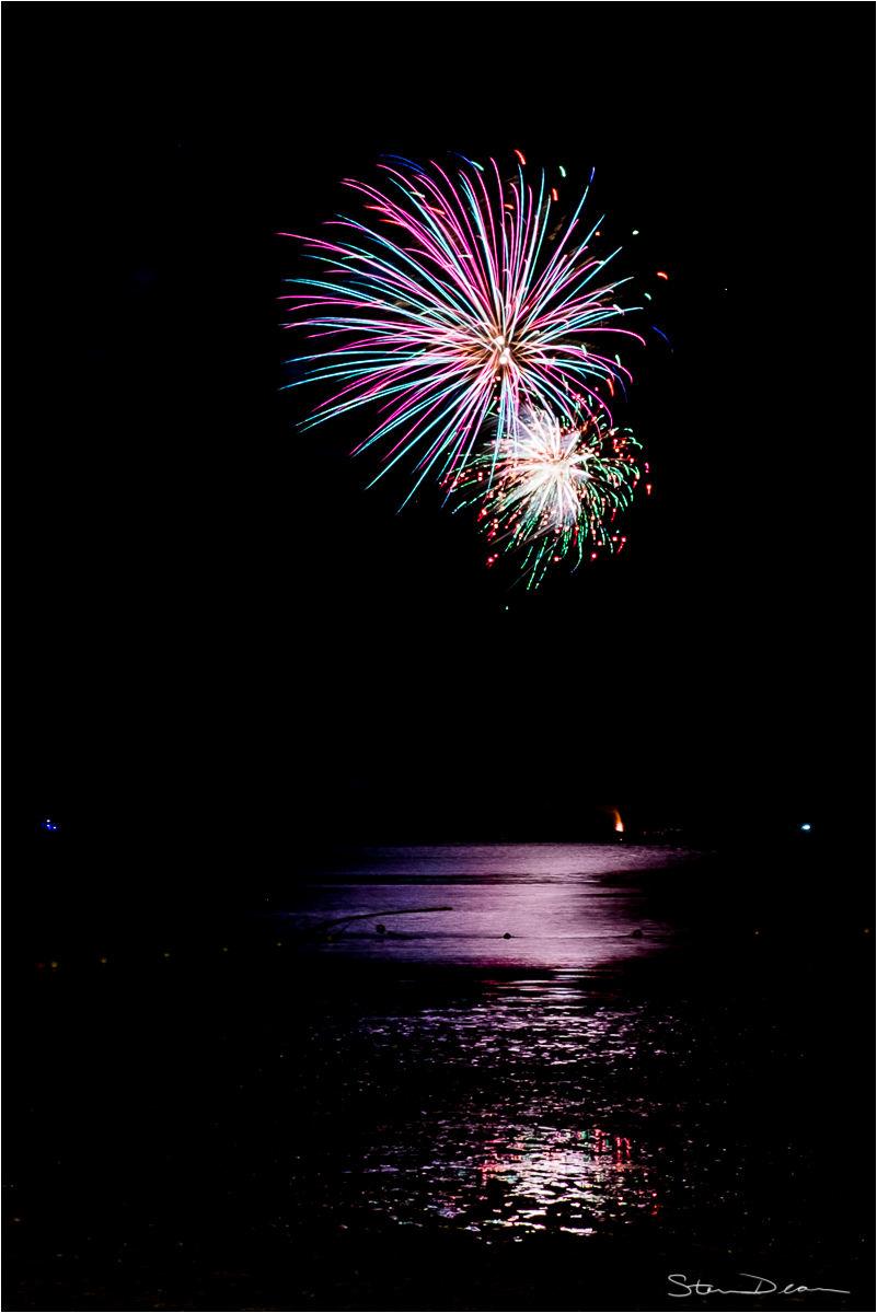 Cedar Key fireworks