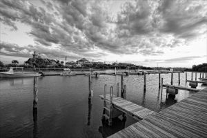 Cedar Key in Black White-2.jpg